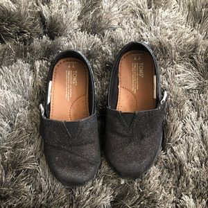 Toddlers Black Flats